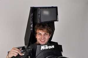 The Tyler Card Nikon Camera Costume is a Fully Functioning Getup