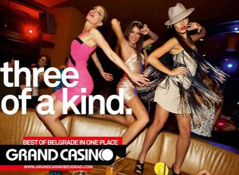 Grand Casino Belgrade Ads