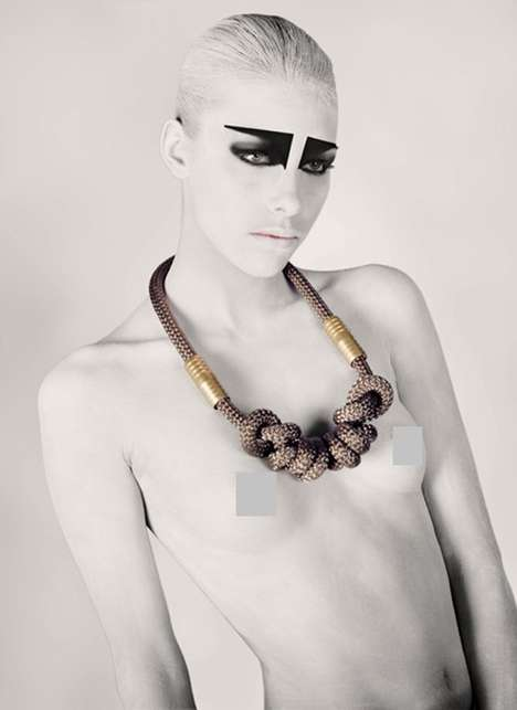 Interlocked Metallic Jewelry - Fove by Frederica Prock Presents Stunning Pieces