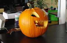 Halloween Pyro Pumpkins