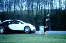 Ronaldo Races Bugatti - Nike Mercurial Vapor IV Viral