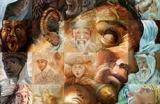 Hypnotic Mosaic Murals