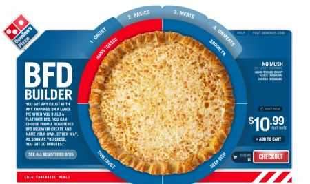 Personalize Your Pizza Online - Domino's Pizza Builder