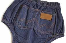 Denim Diapers - Wrangler for Babies