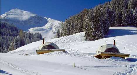 Hi-Tech Eco Igloos - Swiss Whitepod