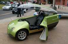 Three-Wheeled Green Machine - TREV Concept Car