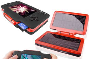 Solar Powered MP4 Mobile Power Station