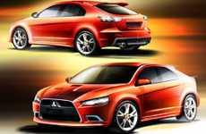 Mitsubishi Lancer Sportback Unveiled -  Prototype-S