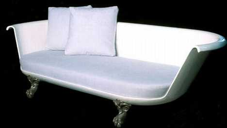 Clawfoot Bath Turned Couch - Savon Love Seat