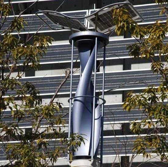 Dual Renewable Energies in the City