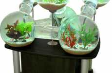 Multi-Room Fish Tanks