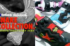 Reebok Insta Pump Fury Snake Collection