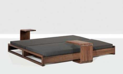 Small Space Utilization - Zeitraum Unveils New Guest Bed