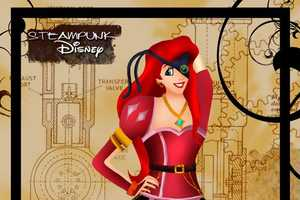 The Steampunk Disney Princesses Series Reimagines Classic Characters