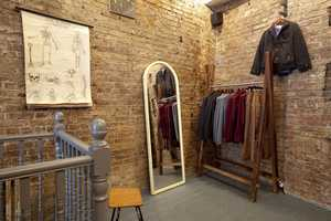 The Topman Store in London Features Exposed Brick & Temporary Art