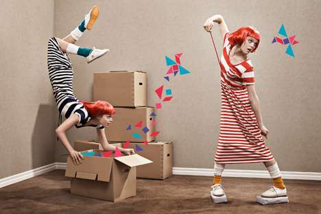 Quirky Editorial Shoots