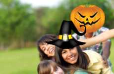 Spooky Image-Altering Apps - BlackBerry Halloween Photo Editor Gives Your Pics a Fun Twist