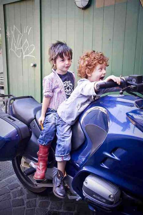 Fashionable Kiddie Footwear - Fiorentini + Baker Launches a Juniors Line With Adorable Campaign