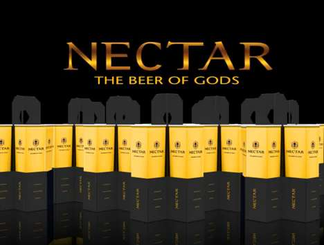 Nectar Honey Beer Packaging