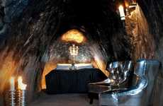 Chic Claustrophobic Accomodations - The Sala Silver Mine Hotel is a Luxurious Cave
