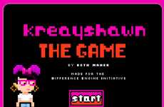 8-Bit Rapper Video Games - 'Kreayshawn: The Game' Turns the Hip Hop Princess into Heroine