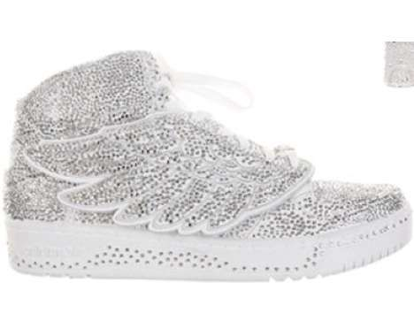 shimmering Swarovski footwear fascinations