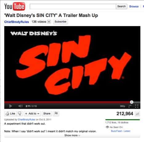 Walt Disney Sin City