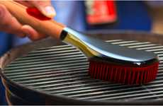 Grease-Guzzling Grill Brushes