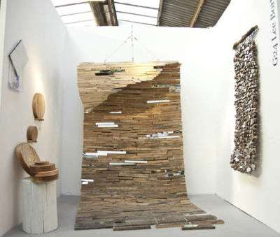 Dazzling Driftwood Reliefs - Lee Borthwick Creates Awe-Inspiring Decor