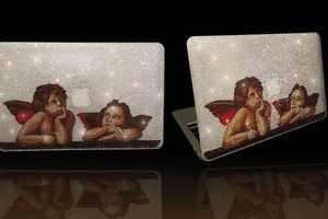 The Swarovski Macbook Air 2011 is a Divine Luxury Laptop Design