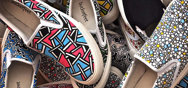 Charitable Canvas Kicks