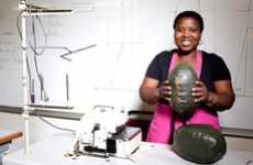 Upcycled Rugby Balls - The TOUCH Initiative Recycles Garbage while Creating Jobs