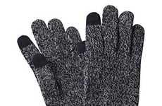 Music-Enabling Mitts - The Touchscreen Gloves Make iPod Shuffling a Breeze