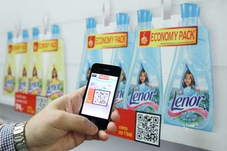 QR Scanned Shopping - The P & G Virtual Drugstores Open in Prague Subway Stations