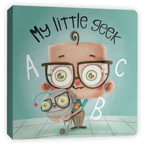 My Little Geek ABC Book