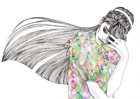 Lili Lu Fashion Illustrations
