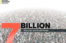 Exploding Population Apps - 'SevenBillion' Will Give You a Sense of the Human Population's Size