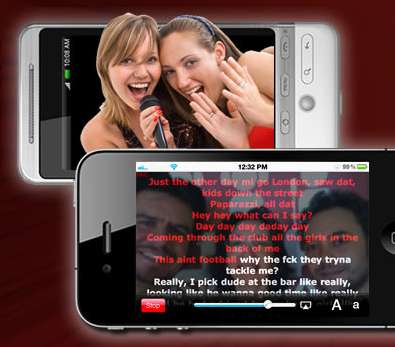 Song-Sharing Apps - Embarrass Yourself Worldwide with the Red Karaoke Application