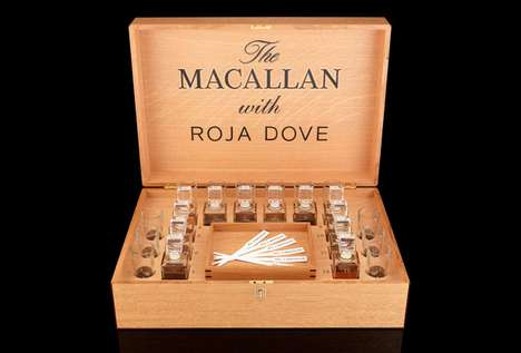 Boozy Sniffer Snifters - The Macallan and Roja Dove Sensory Experience Will Help You Enjoy Whiskey