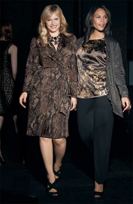 Marquita Pring and Kelly Moreira for Nordstrom October 2011