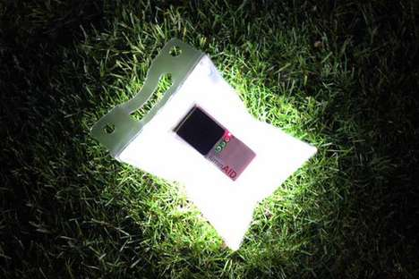 Reusable Solar Relay - The LuminAID is an Inflatable, Waterproof, Solar-Powered Lightbulb