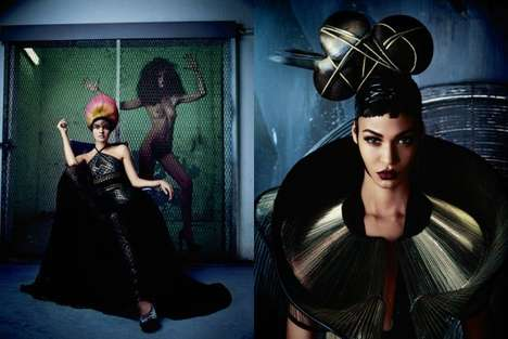 Couture 2011 for V Magazine #74 Winter 2011