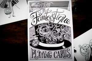 Fantastique Playing Cards Dazzle Magically and Playfully Decieve