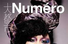 Hot Headpiece Editorials - The Ming Xi for Numero China #13 November 2011 Shoot is Exotic and Lovely