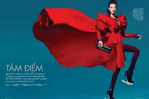 The Tian Yi for Elle Vietnam November 2011 Photoshoot is Hot and Bold