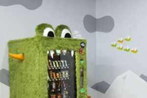 The Goodie Monster Vending Machine Feeds Alternative Appetites