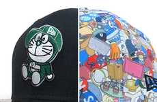 Cyber Cat Caps - Doraemon x New Era Capsule Collection Pays Homage to an Iconic Cartoon Character