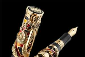 The Montegrappa Chaos Pen Has a Bone-Baring Body