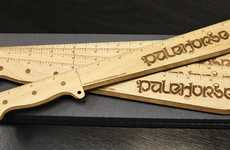 Badass Measuring Hackers - Machete Rulers Gives Classroom Tools a Dangerous Attitude
