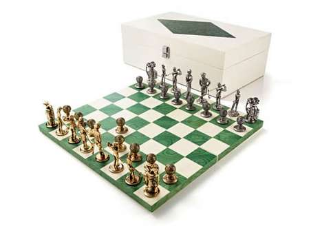 Agresti Golf Chess Set